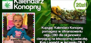Kalendarz Konopny – Akcja charytatywna dla 3,5 letniej Oli Janowicz, UltimateSeeds.pl